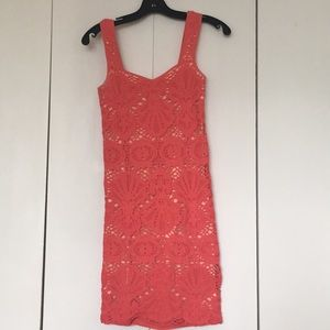 Coral bodycon by Free People